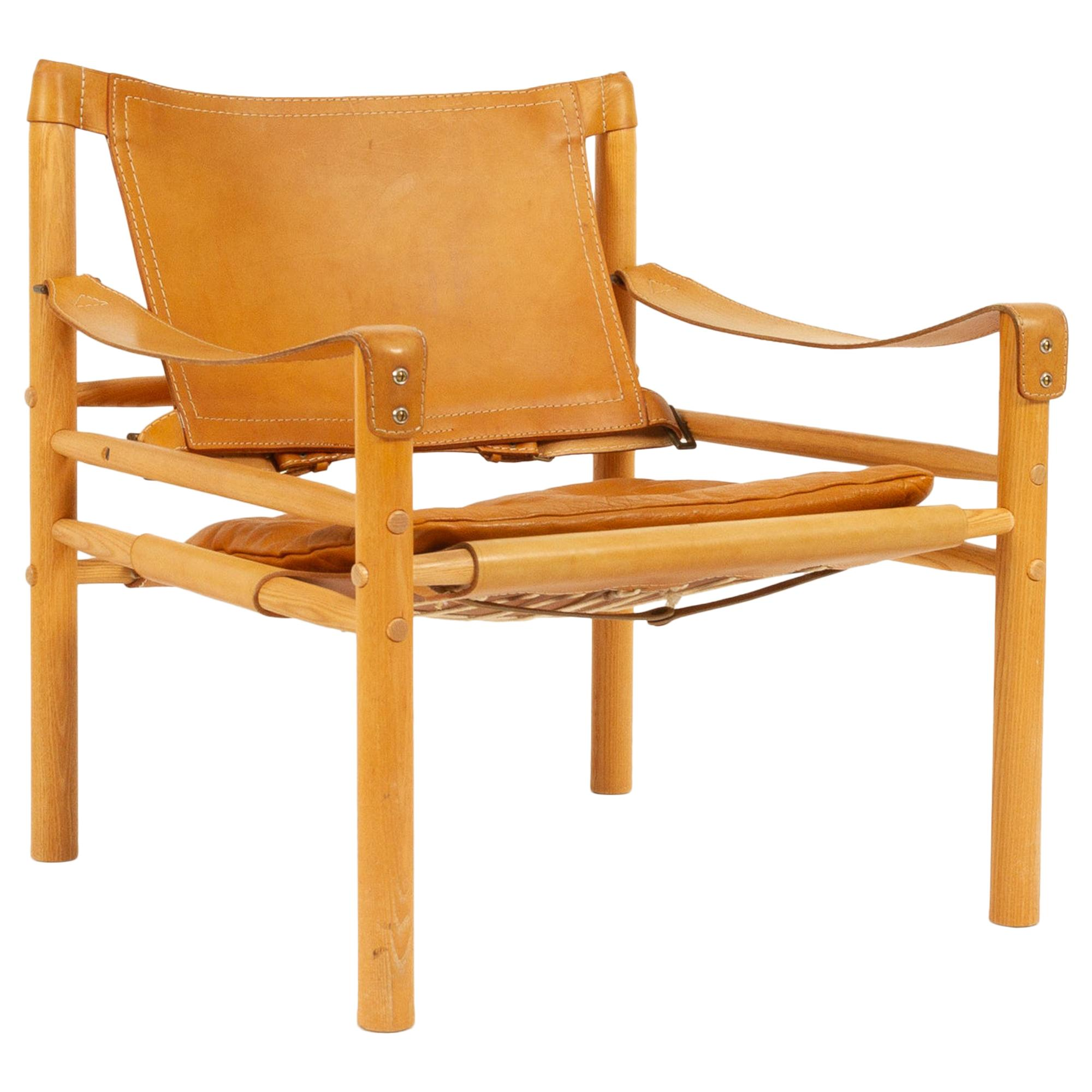 Arne Norell Sirocco Safari Chair, 1960s.