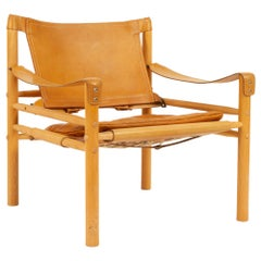 Arne Norell Sirocco Safari Chair, 1960s.