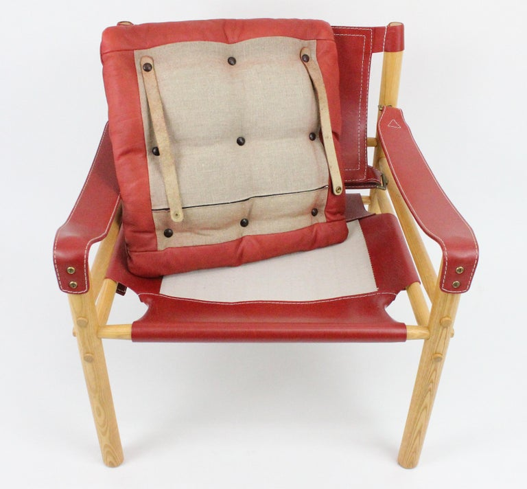 Arne Norell Sirocco Safari Chairs by Norells in Sweden For Sale 13