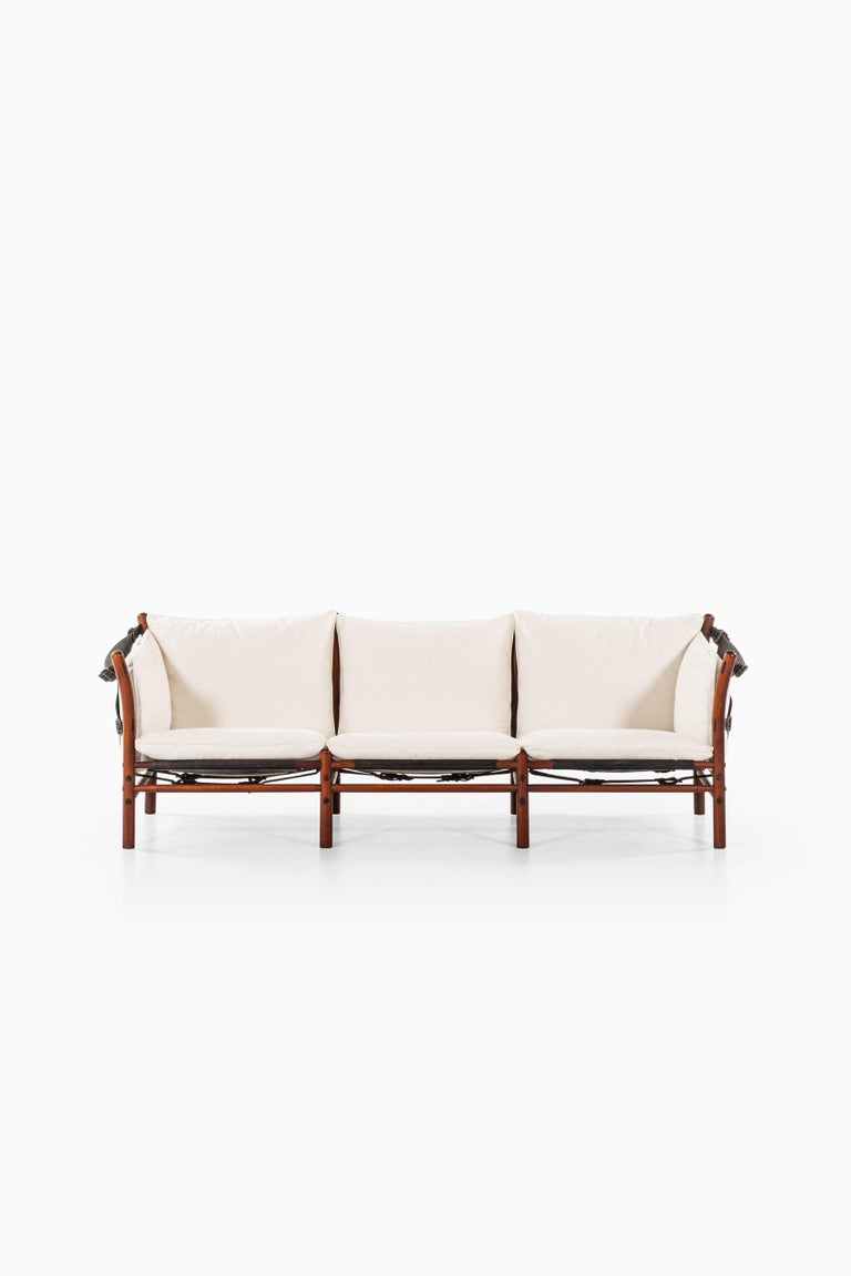3-seat sofa model Ilona designed by Arne Norell. Produced by Arne Norell AB in Aneby, Sweden.