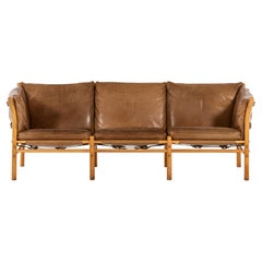 Arne Norell Sofa Model Ilona Produced by Arne Norell AB in Sweden