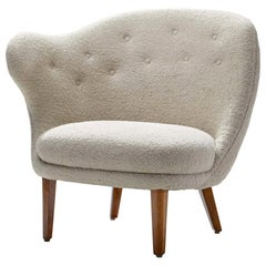 "Arne Norell ""Thumb"" Chair for Gösta Westerberg, Sweden, 1952"
