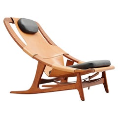 Arne Tidemand Ruud Holmenkollen Lounge Chair, Norway, 1959
