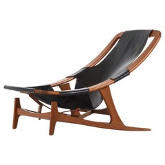 Arne Tidemand-Ruud Lounge Chair Model Holmenkollen by Norcraft in Norway