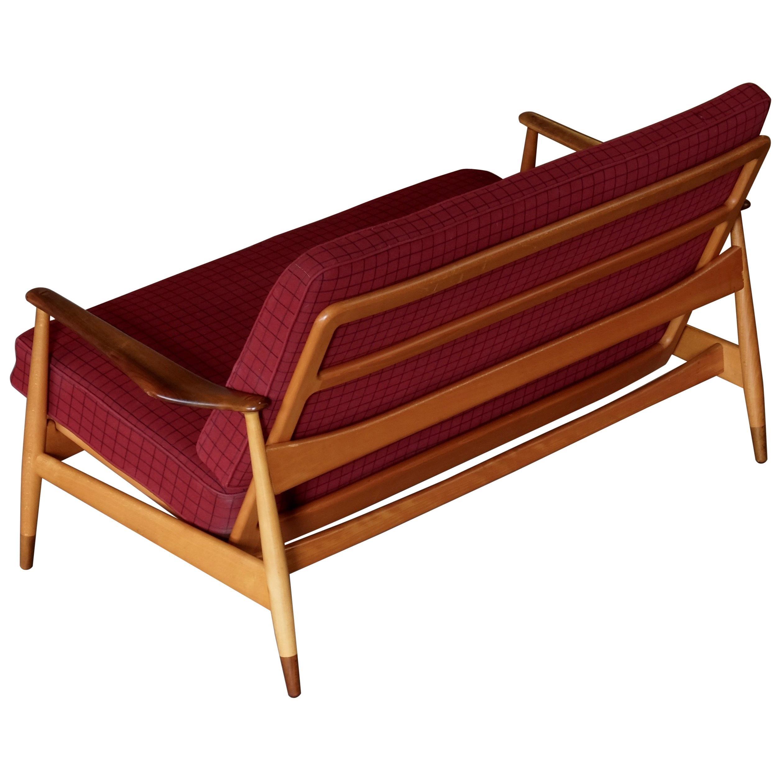 Arne Vodder 2-Seat Sofa, Denmark, 1950s