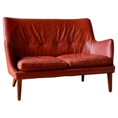 Arne Vodder, 2-Seat Sofa for Ivan Schlechter, Danish Design, 1953