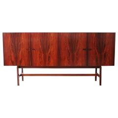 Arne Vodder Brazilian Rosewood Sideboard Credenza