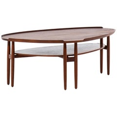 Arne Vodder Coffee Table in Teak Produced in Denmark