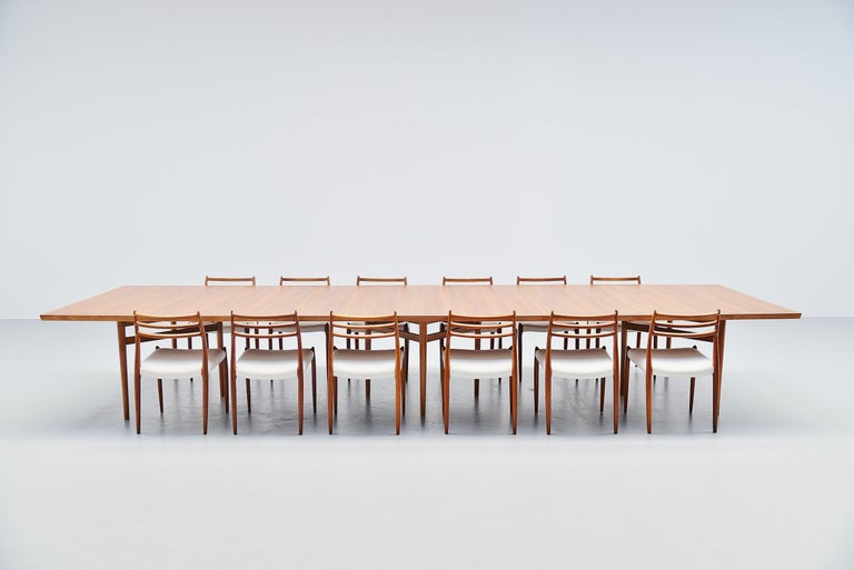 Arne Vodder Conference Table Sibast Mobler, Denmark, 1960 For Sale 3