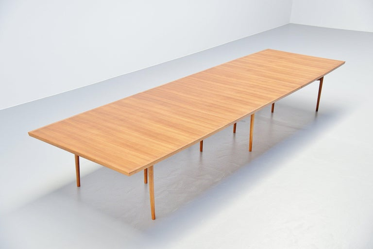 Scandinavian Modern Arne Vodder Conference Table Sibast Mobler, Denmark, 1960 For Sale