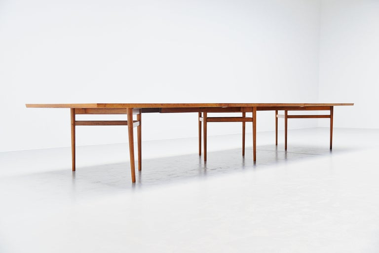 Danish Arne Vodder Conference Table Sibast Mobler, Denmark, 1960 For Sale