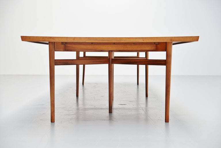 Teak Arne Vodder Conference Table Sibast Mobler, Denmark, 1960 For Sale