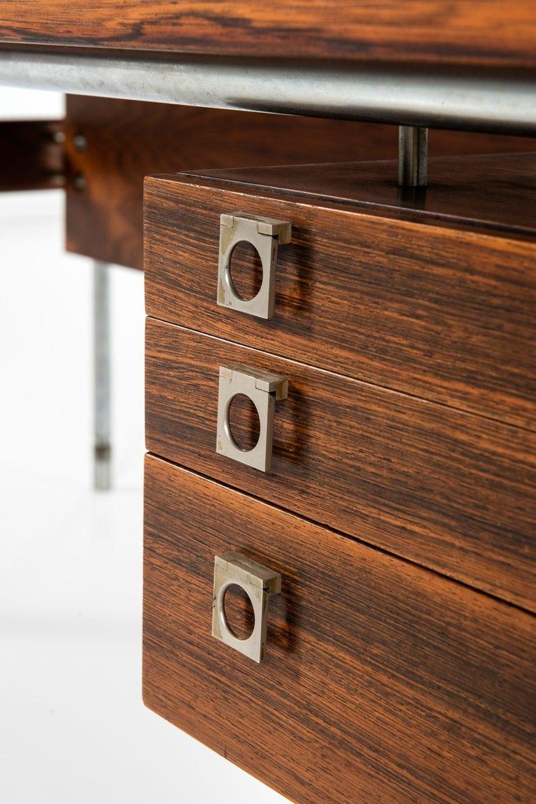 Arne Vodder Desk Produced by Sibast Møbelfabrik in Denmark For Sale 2