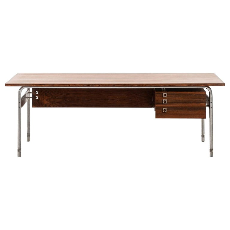 Arne Vodder Desk Produced by Sibast Møbelfabrik in Denmark For Sale