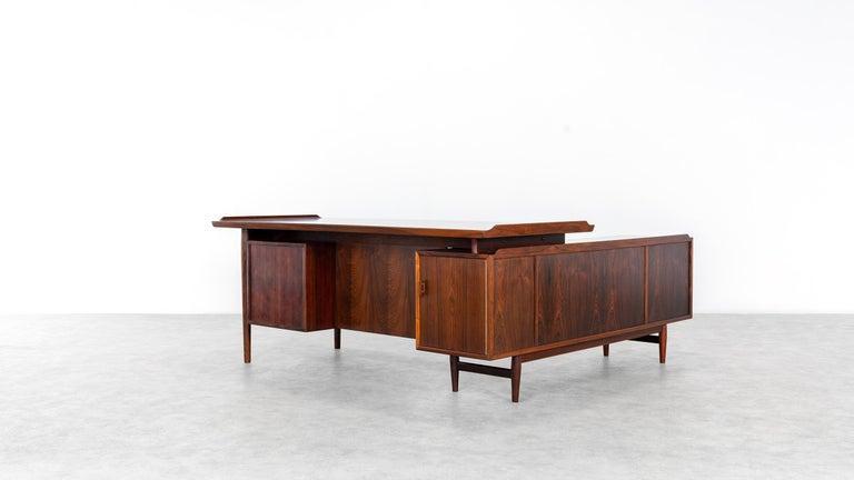 Arne Vodder Desk & Sideboard, Model 209 in 1955 by Sibast Møbelfrabrik, Denmark For Sale 5