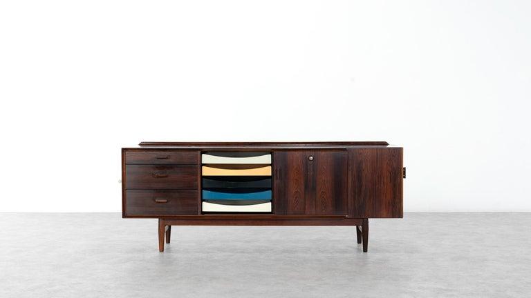 Arne Vodder Desk & Sideboard, Model 209 in 1955 by Sibast Møbelfrabrik, Denmark For Sale 6