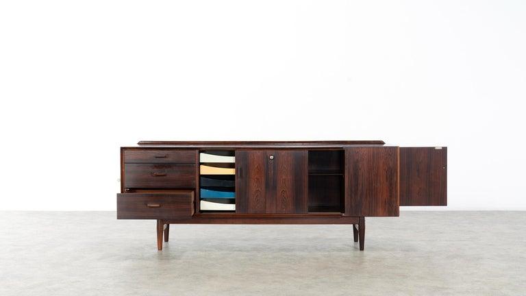 Arne Vodder Desk & Sideboard, Model 209 in 1955 by Sibast Møbelfrabrik, Denmark For Sale 7