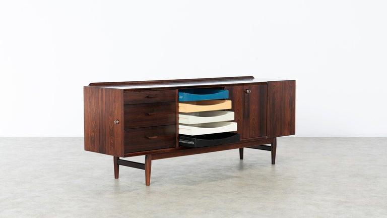 Arne Vodder Desk & Sideboard, Model 209 in 1955 by Sibast Møbelfrabrik, Denmark For Sale 9