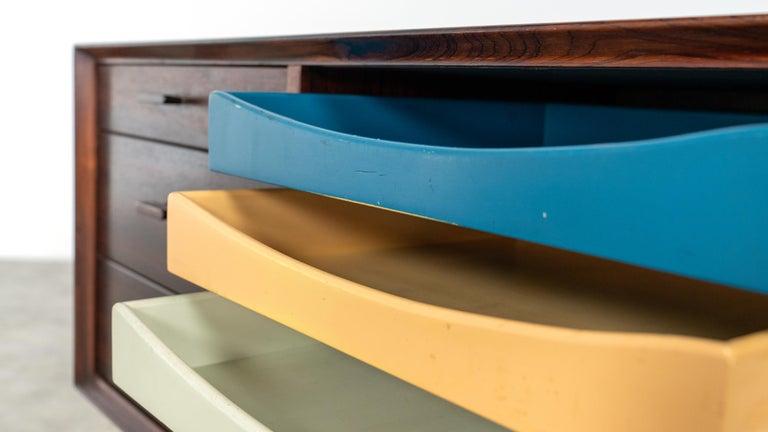 Arne Vodder Desk & Sideboard, Model 209 in 1955 by Sibast Møbelfrabrik, Denmark For Sale 12