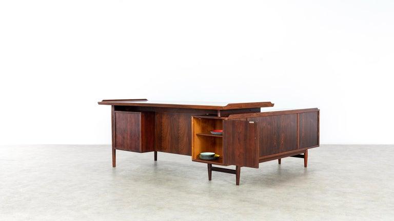 Arne Vodder Desk & Sideboard, Model 209 in 1955 by Sibast Møbelfrabrik, Denmark For Sale 2