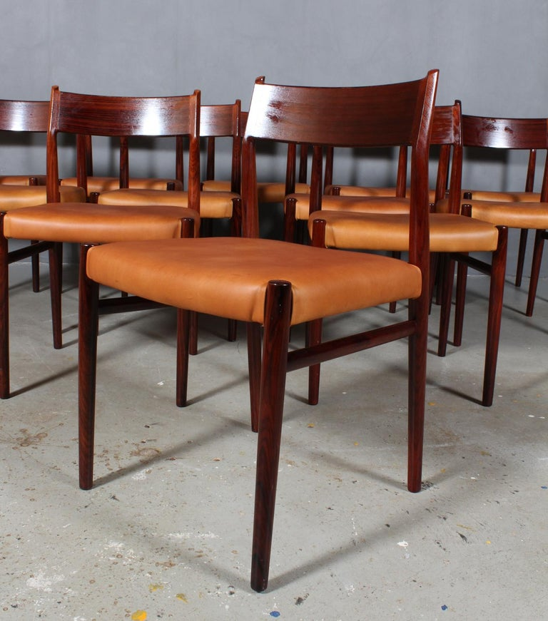 Scandinavian Modern Arne Vodder, Dining Chairs For Sale