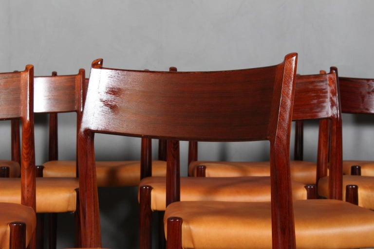 Danish Arne Vodder, Dining Chairs For Sale