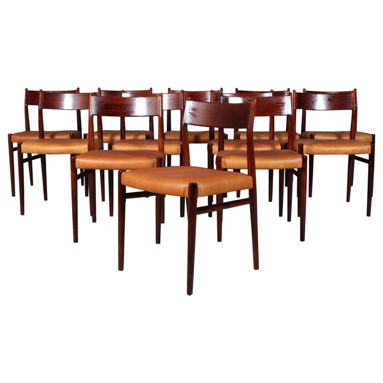 Arne Vodder, Dining Chairs For Sale