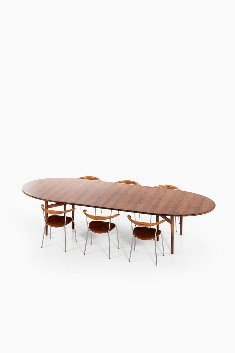 Arne Vodder Dining / Conference Table Produced by Sibast Møbelfabrik in Denmark For Sale 6