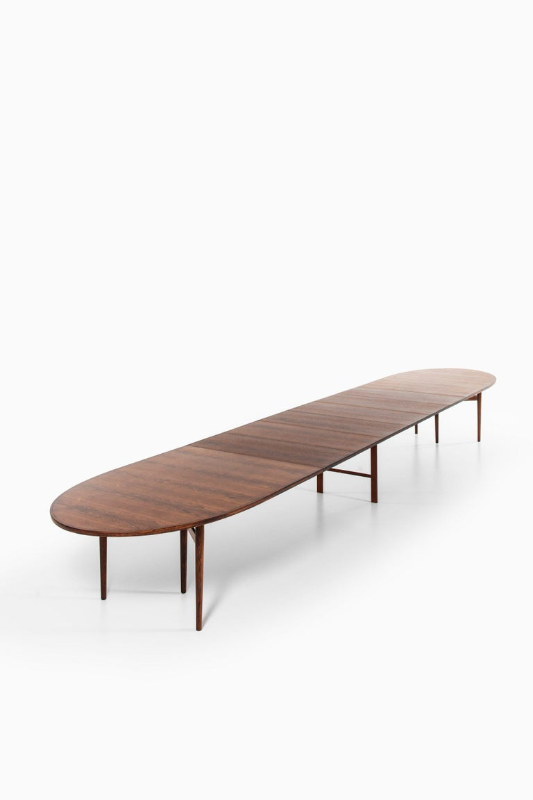 Arne Vodder Dining / Conference Table Produced by Sibast Møbelfabrik in Denmark For Sale 12