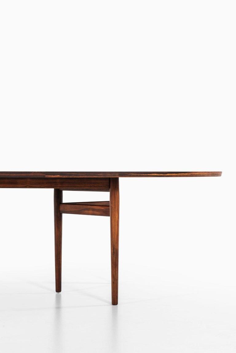Scandinavian Modern Arne Vodder Dining / Conference Table Produced by Sibast Møbelfabrik in Denmark For Sale