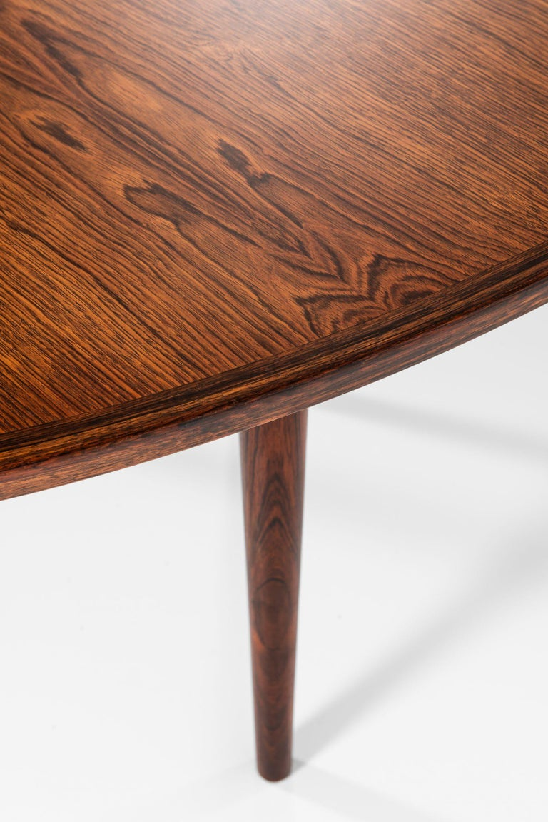 Rosewood Arne Vodder Dining / Conference Table Produced by Sibast Møbelfabrik in Denmark For Sale
