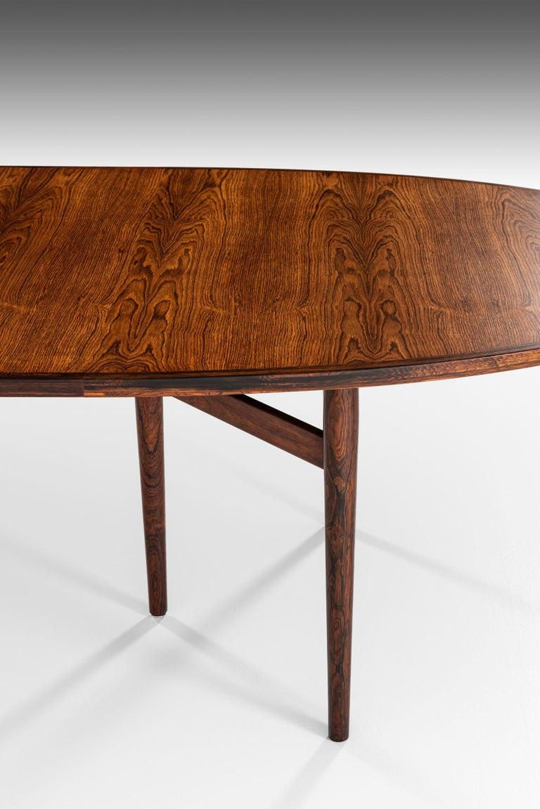Arne Vodder Dining / Conference Table Produced by Sibast Møbelfabrik in Denmark For Sale 1