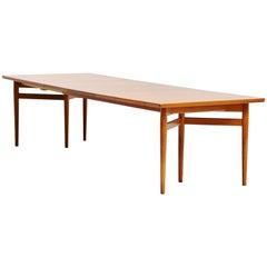 Arne Vodder Dining Table in Teak Sibast Mobler Denmark 1960