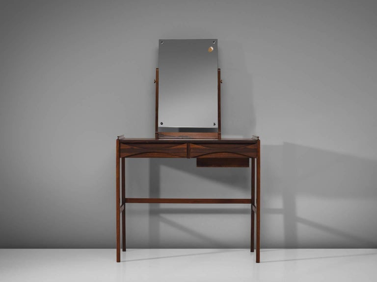 Scandinavian Modern Arne Vodder Dressing Table in Rosewood For Sale