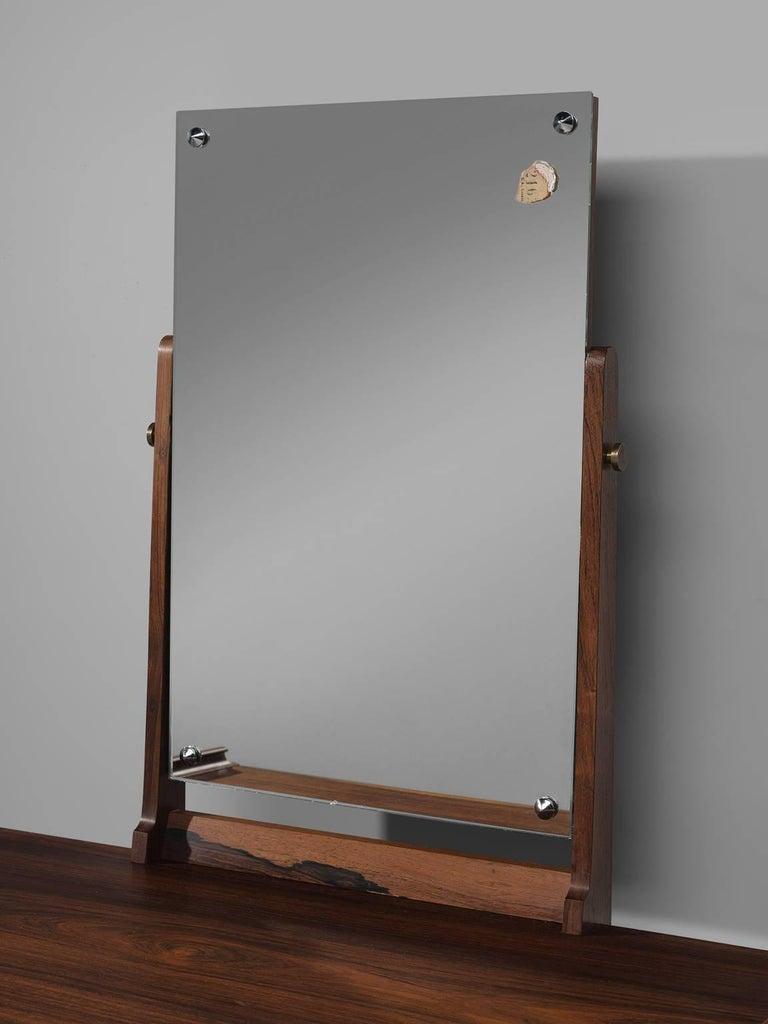 Danish Arne Vodder Dressing Table in Rosewood For Sale