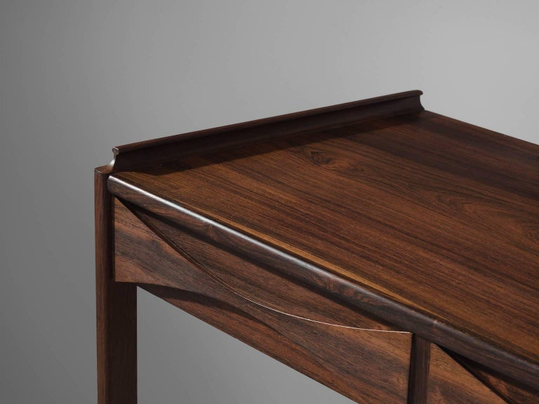 Arne Vodder Dressing Table in Rosewood In Good Condition For Sale In Waalwijk, NL