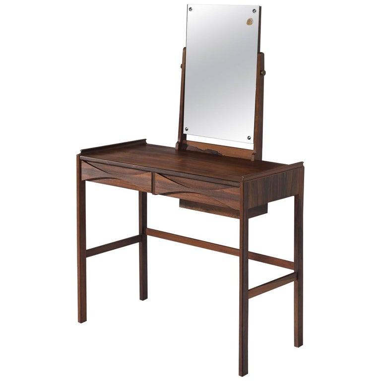 Arne Vodder Dressing Table in Rosewood For Sale