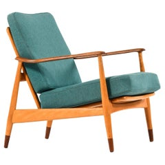 Arne Vodder Easy Chair Model 161 Produced by France & Daverkosen in Denmark