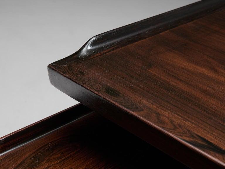 Arne Vodder Executive Desk in Rosewood For Sale 3