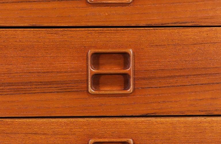 Arne Vodder Executive Teak Desk with Bookshelf for Sibast For Sale 7