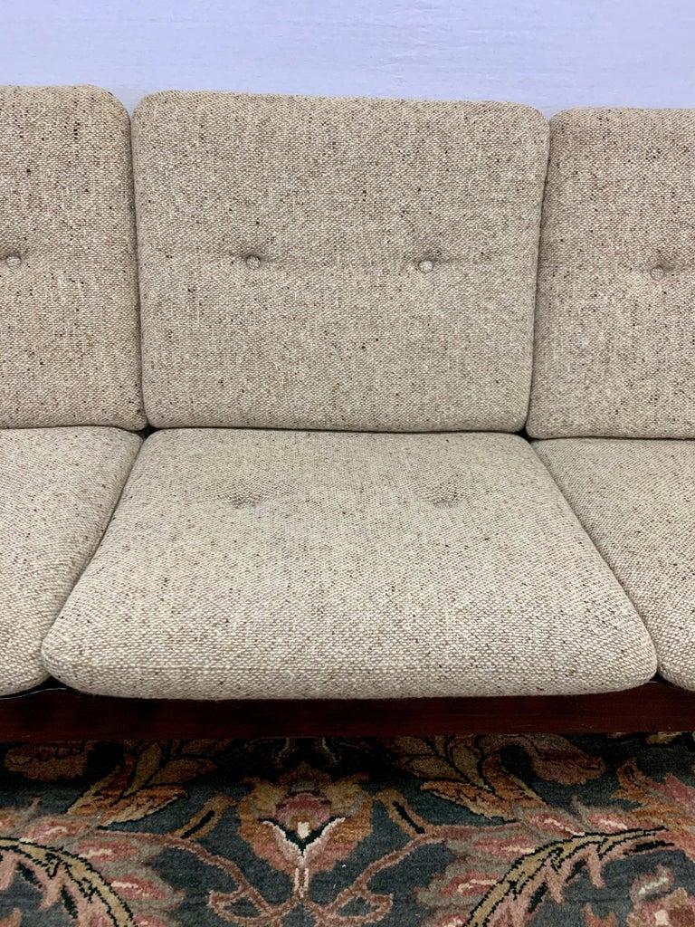 Arne Vodder for Cado Furniture Denmark Signed Three-Seat Danish Modern Sofa For Sale 5