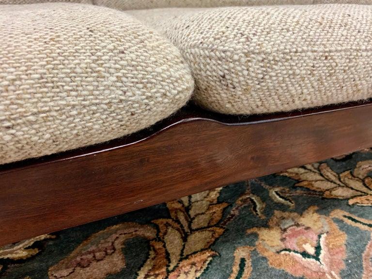 Arne Vodder for Cado Furniture Denmark Signed Three-Seat Danish Modern Sofa For Sale 3