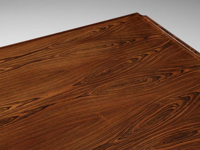 Danish Arne Vodder for Sibast Corner Desk in Rosewood For Sale