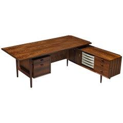 Arne Vodder for Sibast Corner Desk in Rosewood