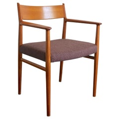 Arne Vodder for Sibast, Desk Armchair, Teak, Denmark