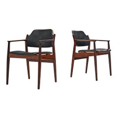 Arne Vodder for Sibast Pair of Dining Chairs '62A' in Rosewood