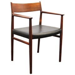 Arne Vodder for Sibast Scandinavian Modern Teak Chair