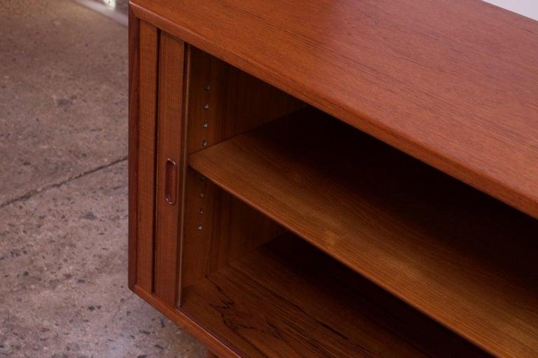 Arne Vodder for Sibast Tambour-Door Teak Credenza Model 37 For Sale 6