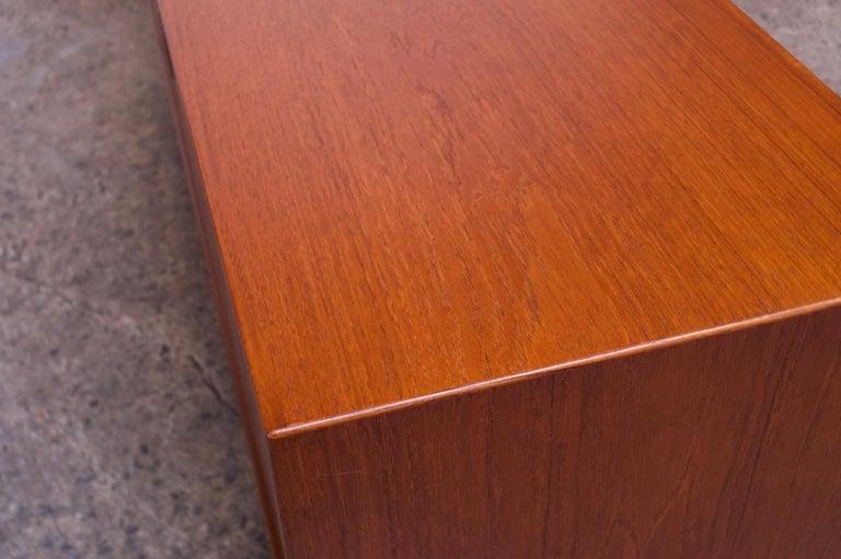 Arne Vodder for Sibast Tambour-Door Teak Credenza Model 37 For Sale 7