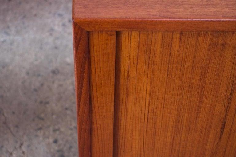 Arne Vodder for Sibast Tambour-Door Teak Credenza Model 37 For Sale 9